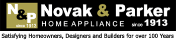 Novak and Parker Home Appliance Logo